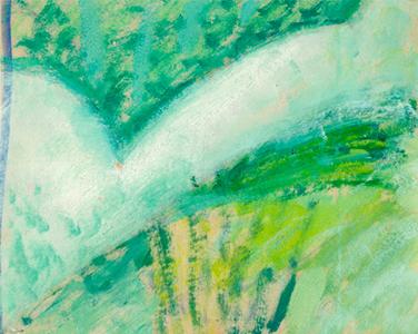 Flor 2 Oli sobre paper 22 x 28 cm