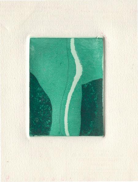Abstracció Gravat a la resina 10 x 15 cm
