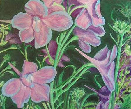 Aquilea Pintura Acrílica 100 x 81 cm