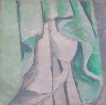 Barnús Oli sobre paper 35 x 35 cm