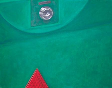 Capsa verda Acrílic sobre tela 81 x 65 cm
