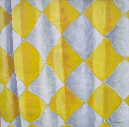 Cortina Oli sobre paper 35 x 35 cm