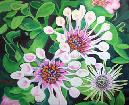 Culleretes Pintura Acrílica 100 x 81 cm
