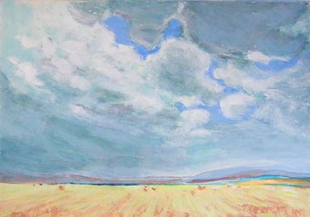 Desert 1 Acrílic sobre paper 60 x 40 cm