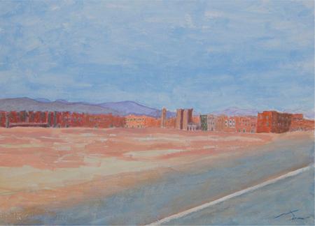 Desert 10 Acrílic sobre paper 60 x 40 cm