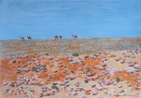 Desert 12 Acrílic sobre paper 60 x 40 cm