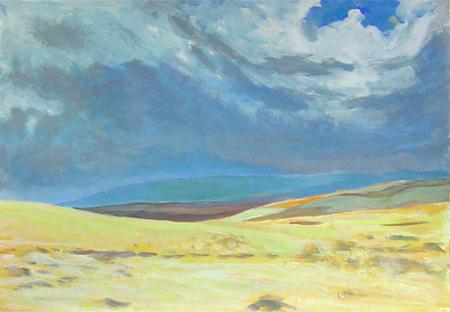 Desert 2 Acrílic sobre paper 60 x 40 cm