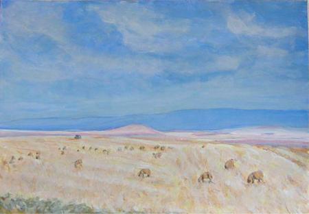 Desert 3 Acrílic sobre paper 60 x 40 cm