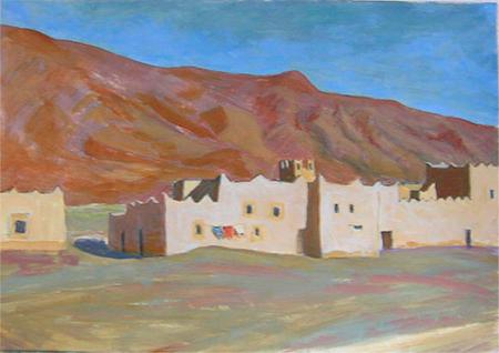 Desert 5 Acrílic sobre paper 60 x 40 cm