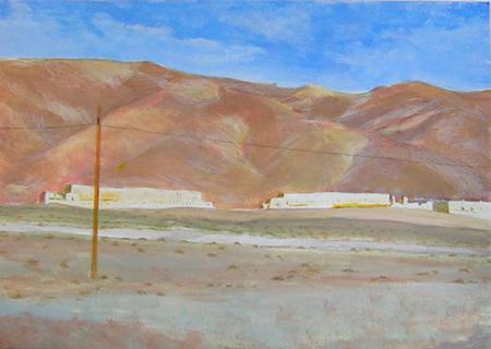 Desert 6 Acrílic sobre paper 60 x 40 cm