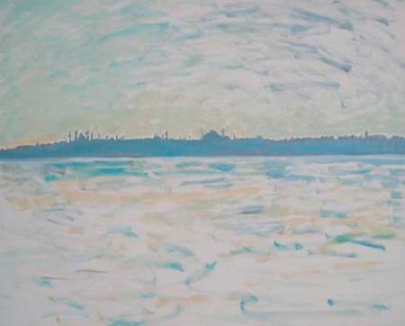 Istanbul 1 Oli sobre tela 73 x 60 cm