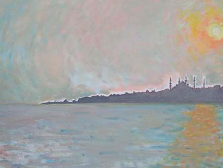 Istanbul 2 Oli sobre tela 73 x 60 cm