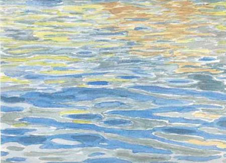 El mar Aquarel·la 35 x 24 cm