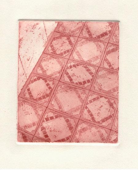 Terres de l'Eixampla 1 Calcografia 31 x 37 cm