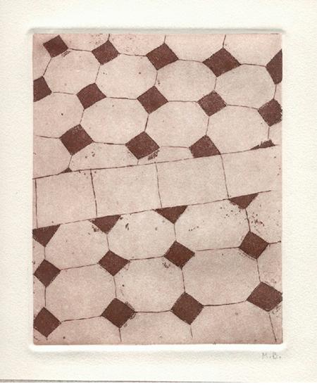 Terres de l'Eixampla 3 Calcografia 31 x 37 cm