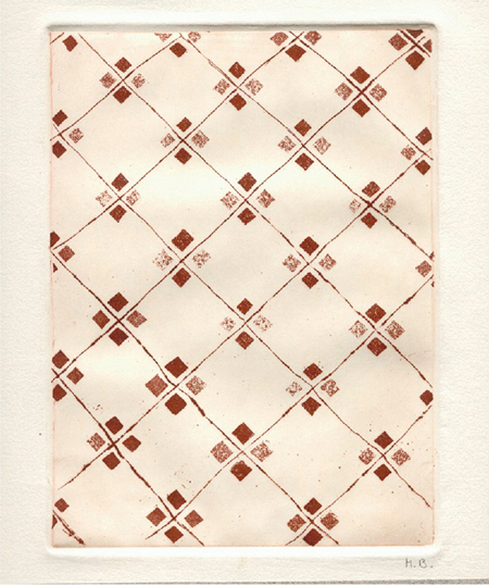Terres de l'Eixampla 4 Calcografia 31 x 37 cm