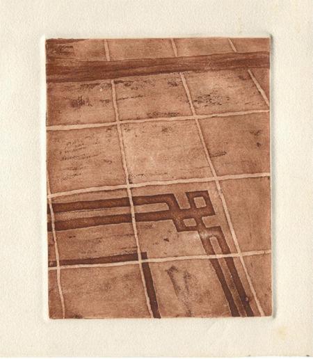 Terres de l'Eixampla 5 Calcografia 31 x 37 cm