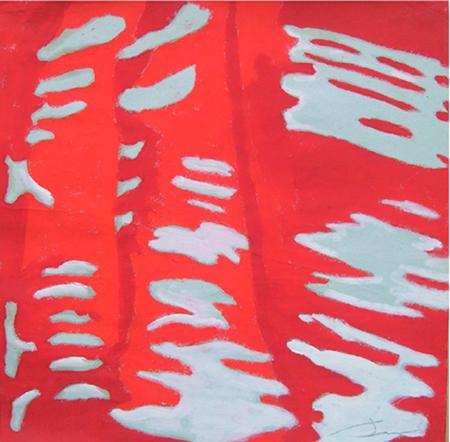 Tovallola Oli sobre paper 35 x 35 cm