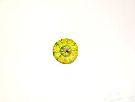 Carabassa 3 Acuarel·la 31 x 23 cm