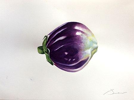 Esberginia Acuarel·la 31 x 23 cm