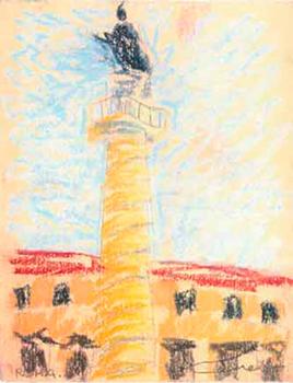 Roma, Trajà Pintura al pastel 17 x 13 cm