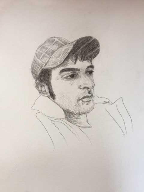 Eduard Llapis sobre paper Mides 40 x 30 cm